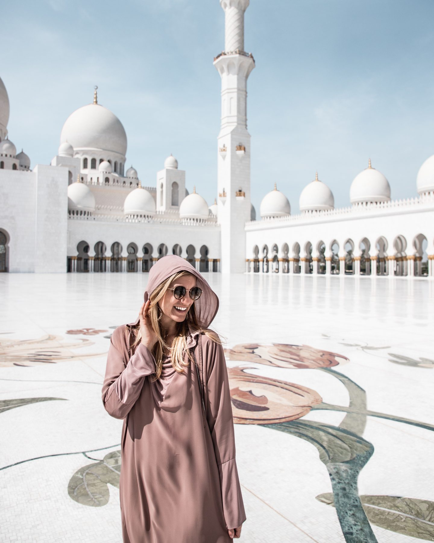 Visiting The Sheikh Zayed Mosque